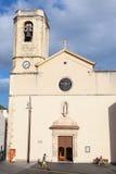 Sglesia De Calafell Cathédrale catholique, Espagne Image libre de droits