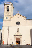 Sglesia de Calafell. Catholic cathedral, Spain Royalty Free Stock Image
