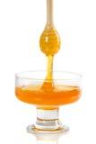 Sgocciolatura del miele immagini stock