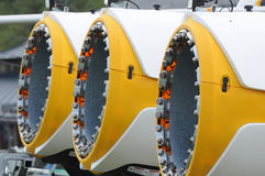 Sgombraneve a turbina Immagini Stock