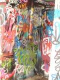 Sgraffite de graffiti à Melbourne Photo libre de droits