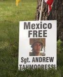 Sgt libero Andrew Tahmooressi Fotografia Stock Libera da Diritti