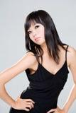 Sguardo arrogante della donna asiatica Fotografia Stock Libera da Diritti