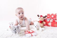 Sguardo in avanti al Natale Fotografia Stock Libera da Diritti
