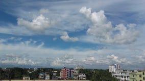Sguardo del cielo nello sylhet fotografia stock