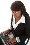 Sguardo del computer portatile Immagini Stock Libere da Diritti