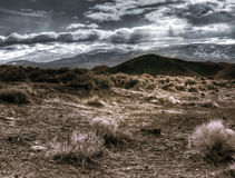 Reno Nevada dalla gamma di Virgina Fotografia Stock