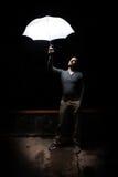 Sguardo dell'indicatore luminoso Fotografia Stock