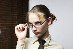 Sguardo della donna fotografia stock libera da diritti