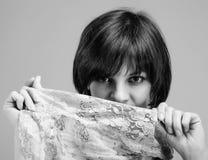 Sguardo della donna Fotografie Stock