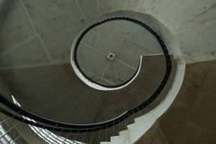 Sguardo fisso a spirale Immagine Stock