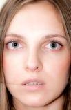 Sguardo Hypnotized immagini stock libere da diritti