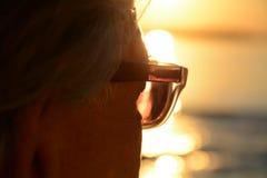Sguardo interno al tramonto Immagini Stock