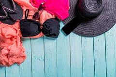 Sguardo luminoso della spiaggia di estate Fotografia Stock Libera da Diritti