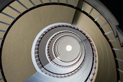 Sguardo in su delle scale Immagine Stock Libera da Diritti