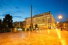 Sguare do Syntagma Fotografia de Stock