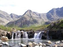 Sgurr um Fheadain, ilha de Skye Foto de Stock