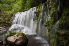 Sgwd Clun Gwyn Falls Royalty Free Stock Photography