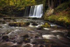 Sgwd Ddwli Uchaf waterfalls South Wales Stock Photography