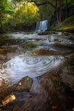 Sgwd Ddwli Uchaf waterfalls South Wales Stock Images