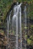 Sgwd yr Eira瀑布,布雷肯比肯斯山国家公园,威尔士 免版税库存图片