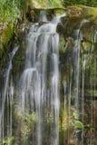 Sgwd yr Eira瀑布,布雷肯比肯斯山国家公园,威尔士 库存照片