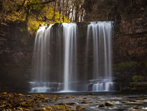 Sgwd yr Eira or fall of snow Royalty Free Stock Photos