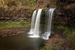 Sgwd yr Eira waterfall Royalty Free Stock Photo