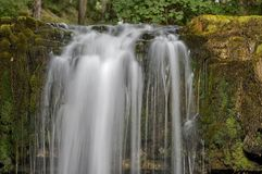Sgwd yr Eira waterfall, Brecon Beacons National Park, Wales Royalty Free Stock Image