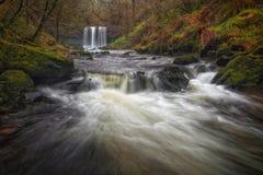 Sgwd yr Eira waterfalls Royalty Free Stock Photos
