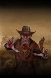 Shérif de zombi Images stock