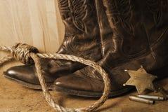shérif occidental Photos stock