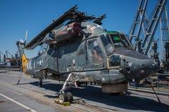 SH-2 Seasprite. Anti-submarine & anti-surface threat Helicopter royalty free stock photos