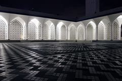 Sha Alam. Mosque in Malaysia royalty free stock photography