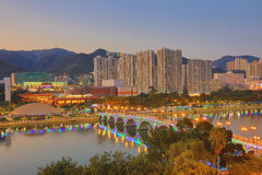 Sha tenn, Hong Kong royaltyfria foton