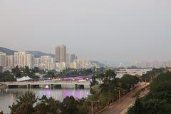 Sha tenn, Hong Kong fotografering för bildbyråer
