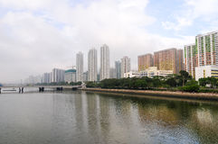Sha Tin Central Park Royalty Free Stock Photography