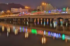 Sha Tin Festive Lighting 2016 Photographie stock