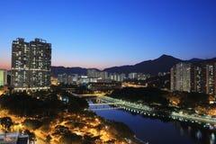 Sha Tin, Hong Kong. The Sha Tin at Hong Kong winter royalty free stock photos