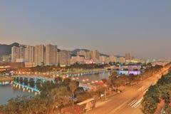Sha Tin, Hong Kong. The Sha Tin at Hong Kong winter royalty free stock images
