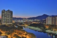 Sha Tin, Hong Kong. The Sha Tin at Hong Kong winter royalty free stock photography