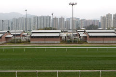 Sha Tin Racecourse, Hong Kong Royalty Free Stock Photo