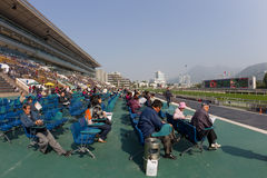 Sha Tin Racecourse, Hong Kong Royalty Free Stock Image