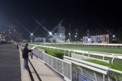 Sha Tin Racecourse, Hong Kong Stock Photo