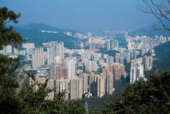 Sha Tin Town of Hong Kong Royalty Free Stock Photography