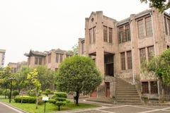 SHAANXI, CHINA - 3. Juni 2015: Zhang Xueliang Residence (Zhangxuel Stockfotos