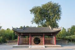 SHAANXI, CHINA - NOV 3 2014: Ma Chao Tomb, Mianxian County, Shaa Stock Photo