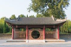 SHAANXI, CHINA - NOV 3 2014: Ma Chao Tomb, Mianxian County, Shaa Royalty Free Stock Image