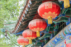 SHAANXI, CHINA - OCT 13 2014: Jintai Temple. a famous Temple in Stock Image