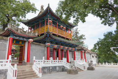 SHAANXI, CHINA - OCT 13 2014: Jintai Temple. a famous Temple in Royalty Free Stock Photo